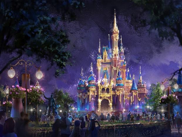 Símbolos de Magia: Magic Kingdom (Castelo da Cinderela) (Foto: Walt Disney World)