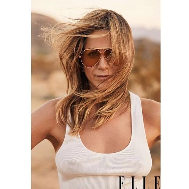 Jennifer Aniston (Foto: Elle/Reprodução)