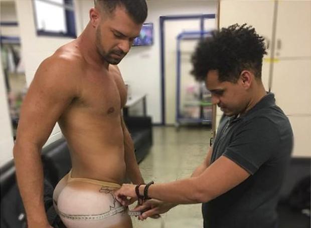 Bruno Miranda, o Borat de Amor & Sexo (Foto: Reprodução/Instagram)
