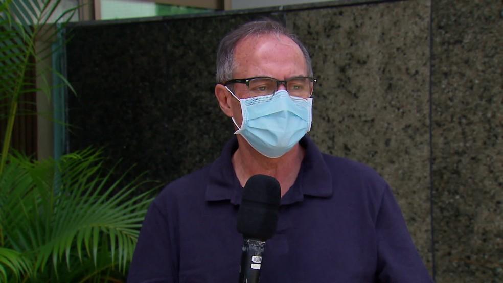 Pedro Eurico é secretário de Justiça e Direitos Humanos de Pernambuco — Foto: Reprodução/TV Globo