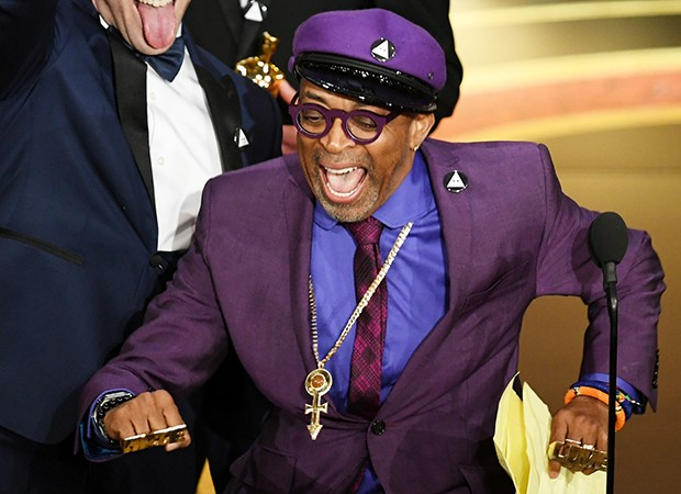 Spike Lee vence por Melhor Roteiro Original (Foto: Getty Images)