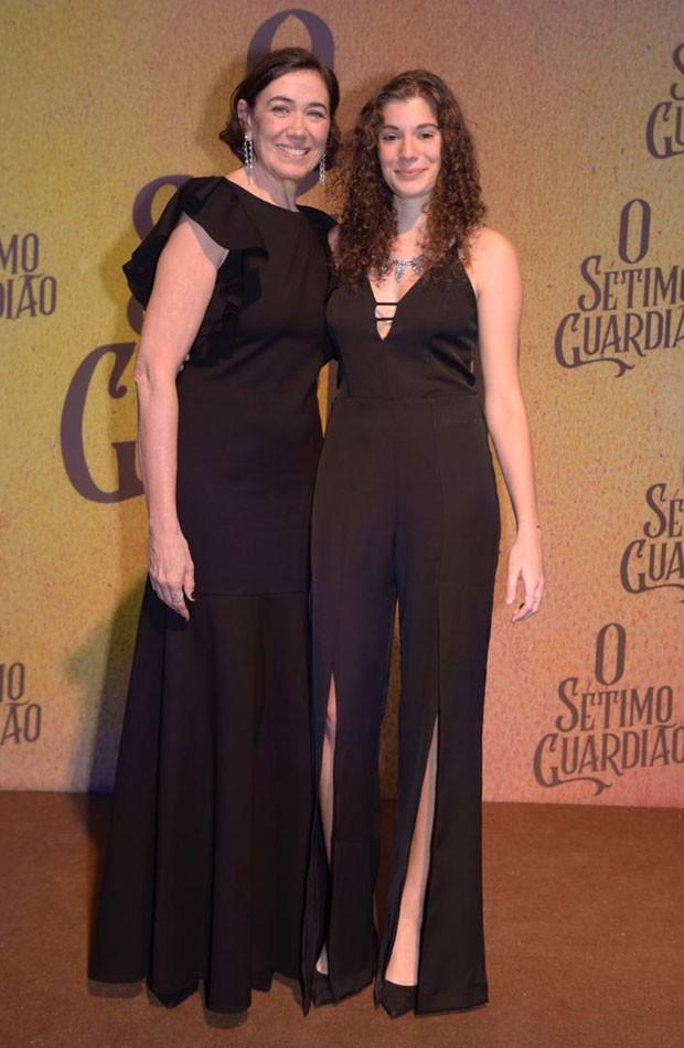 Lília Cabral e a filha, Giulia (Foto: Selmy Yassuda)