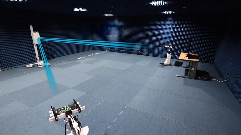 Velocidade recorde foi alcançada em teste de laboratório — Foto: Divulgação/Samsung