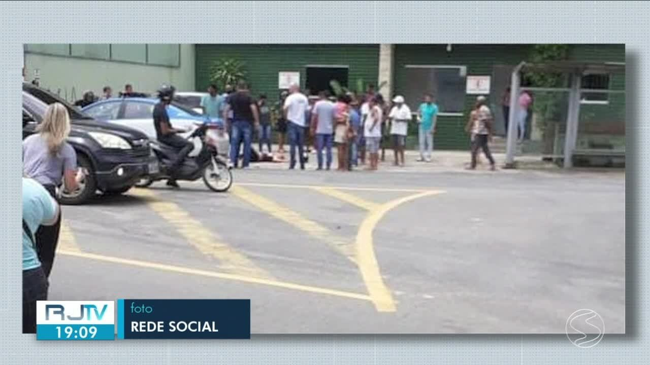Jovem é baleado e outro é atropelado no bairro Ano Bom, em Barra Mansa