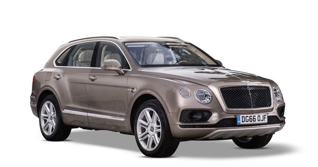 O Bentley Bentayga (Foto: Divulgação)