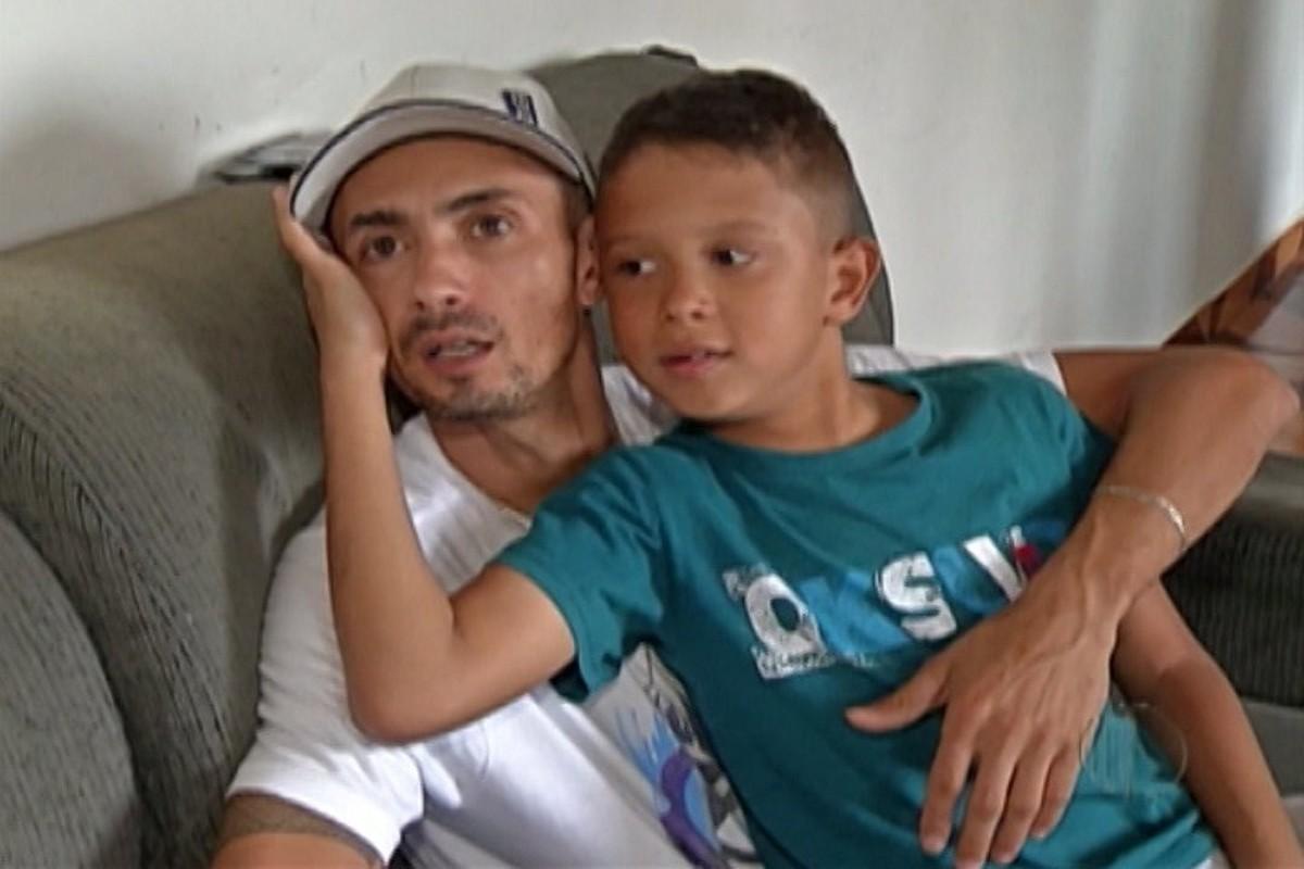 Casal faz campanha para ajudar o filho com doença degenerativa em Mogi das Cruzes