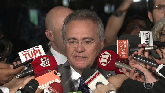 STF julga liminar que pode tirar Renan do comando do Senado