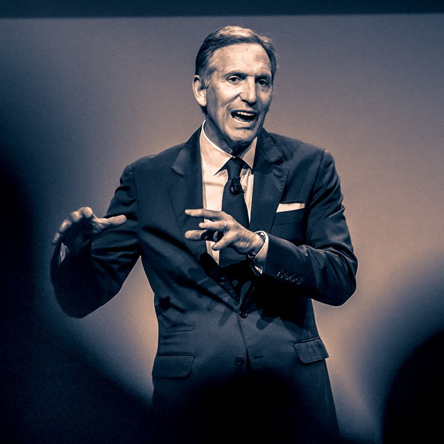 <strong>Howard Schultz</strong> - 65 anos Bacharel em oratória e retórica pela Northern Michigan University (Foto: Getty Images)