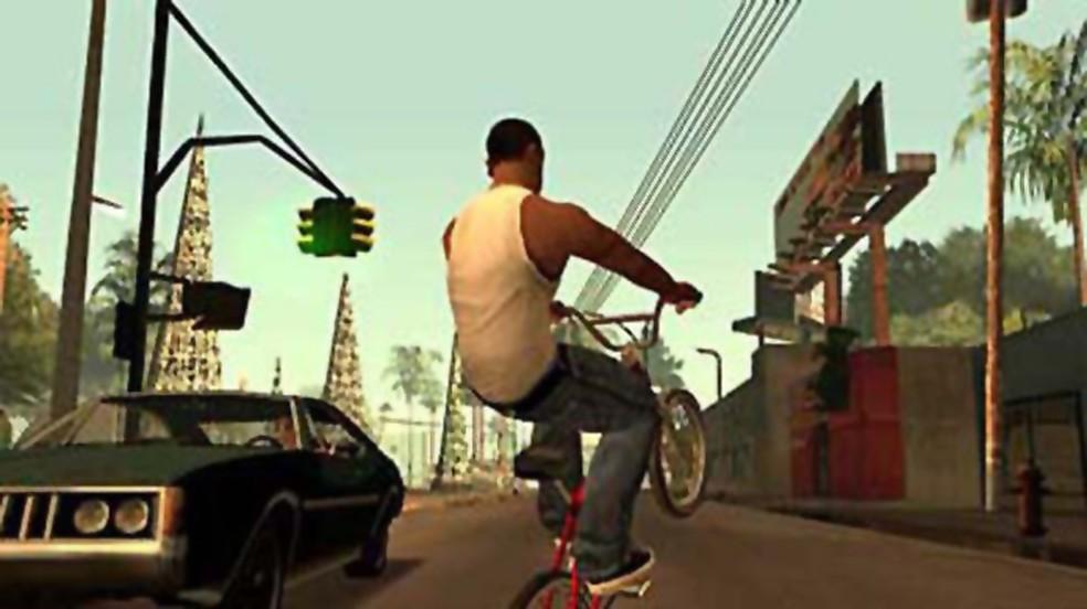 GTA: San Andreas foi um dos maiores fenômenos do PlayStation 2 — Foto: Reprodução/PlayStation