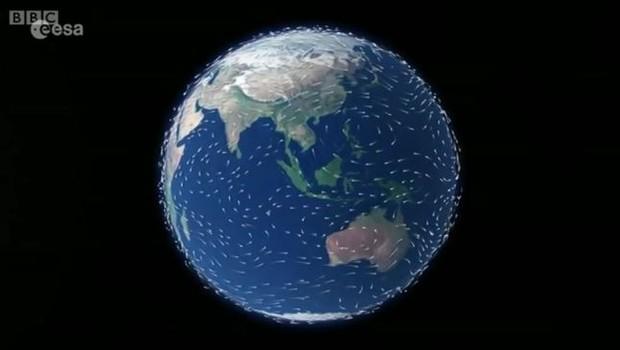 Aparelho terá a missão de fazer o primeiro mapa global de ventos (Foto: Reprodução/BBC News Brasil)