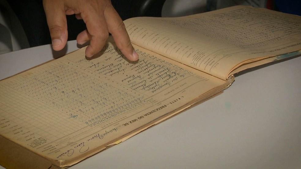 Antônio Barros estudou na primeira escola fundada na cidade de Queimadas, na Paraíba — Foto: Reprodução/TV Cabo Branco