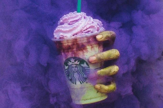 Starbucks lança frappucino Zumbi (Foto: Divulgação)