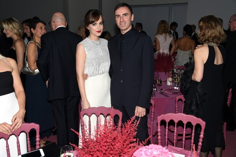 Dakota Johnson e Raf Simons