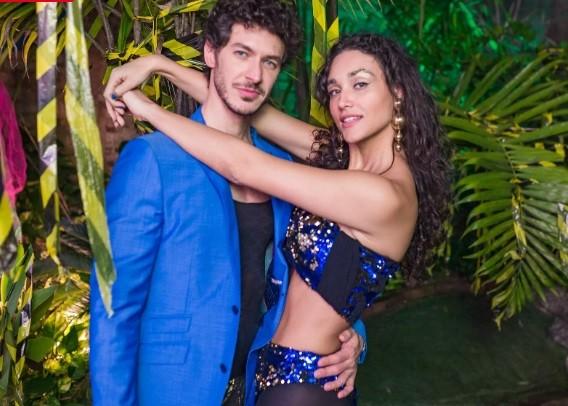 Luiz Perez e Debora Nascimento (Foto: Apocalipse Tropical/Facebook)