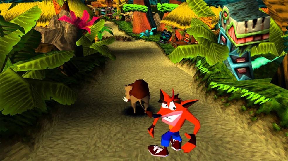 Crash Bandicoot era praticamente o mascote do console da Sony não oficialmente — Foto: Reprodução/Taringa