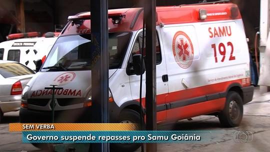 Ministério da Saúde suspende repasse de R$ 181 mil para o Samu de Goiânia após irregularidades