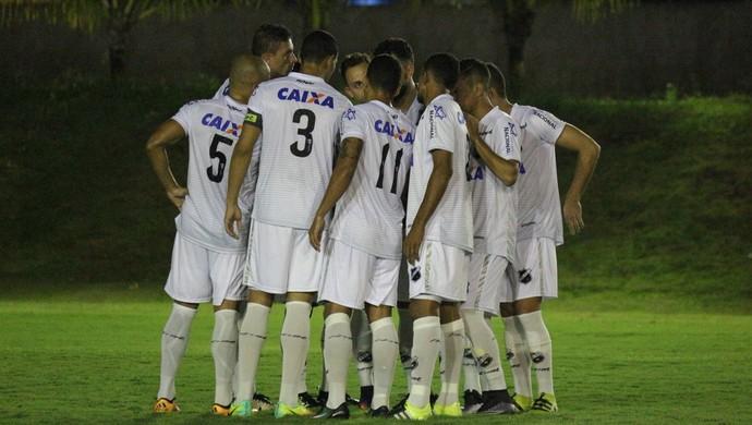 ABC - Cleiton Potiguar, zagueiro - Globo FC x ABC, no Estádio Barretão (Foto: Andrei Torres/ABC)