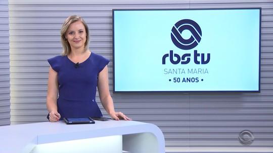 RBS TV Santa Maria completa 50 anos na próxima sexta-feira