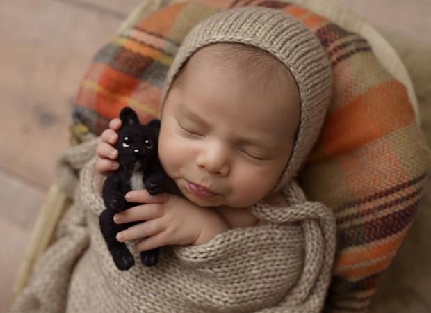 Zion, filho de Jade Seba e Bruno Guedes (Foto: Paloma Schell/ Black Comunicação)
