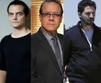 Wagner Moura e André Mattos contracenarão com Maurice Compte, de 'Breaking bad' em 'Narcos', série da Netflix | O Globo/Record/Reprodução da internet