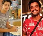 Rodrigo Simas foi Leandro, filho de Dagmar (Cris Vianna). A trama marcou sua estreia em novelas da Globo. No ano passado, o ator esteve em 'Órfãos da terra' | TV Globo e reprodução