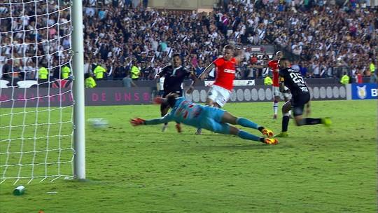 Assista aos gols do empate entre Vasco e Atlético-PR
