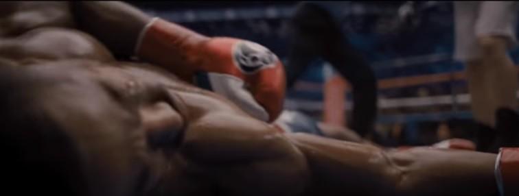 Cena do trailer de Creed II (Foto: reprodução)
