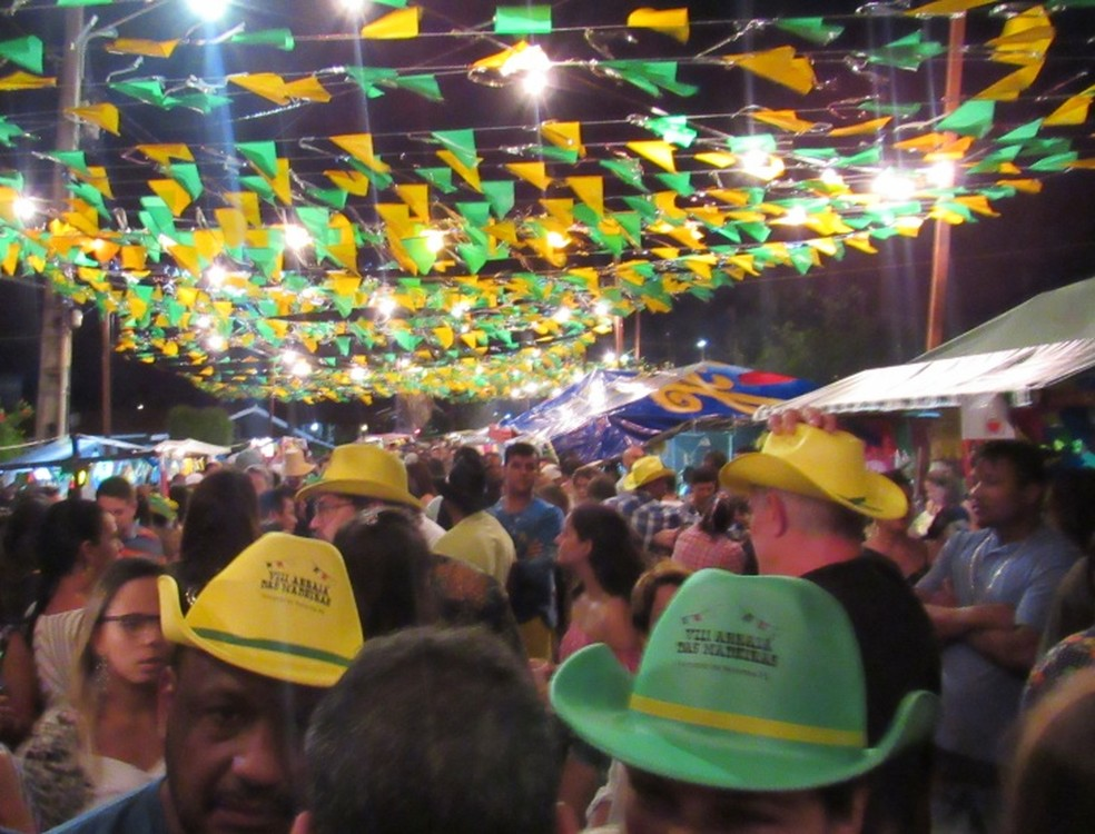 A rua ficou lotada  (Foto: Ana Clara Marinho/TV Globo )