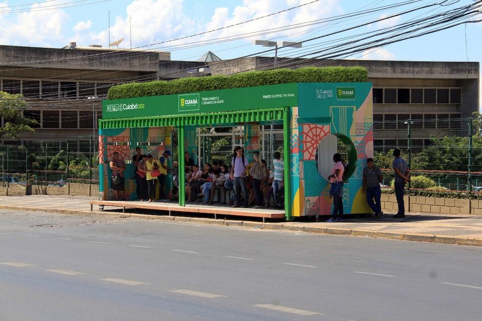 Abrigos serão construídos por meio de parcerias com empresas (Foto: Prefeitura de Cuiabá/Divulgação)