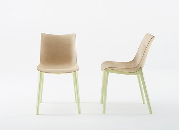 Salão do Móvel de Milão: Kartell lança cadeiras de Philippe Starck em madeira (Foto: divulgação)