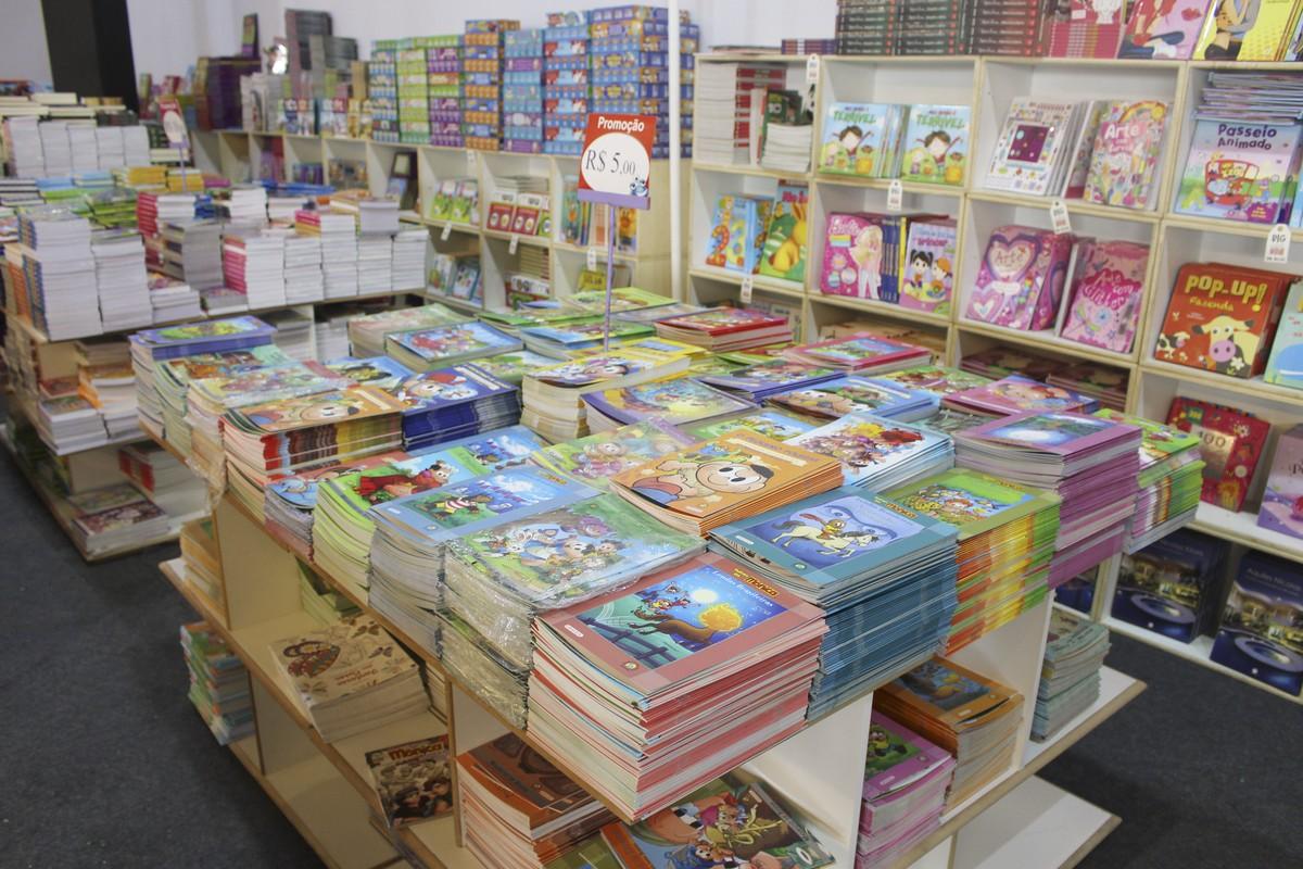 Shopping de Itaquaquecetuba recebe feira de livros para crianças e adolescentes