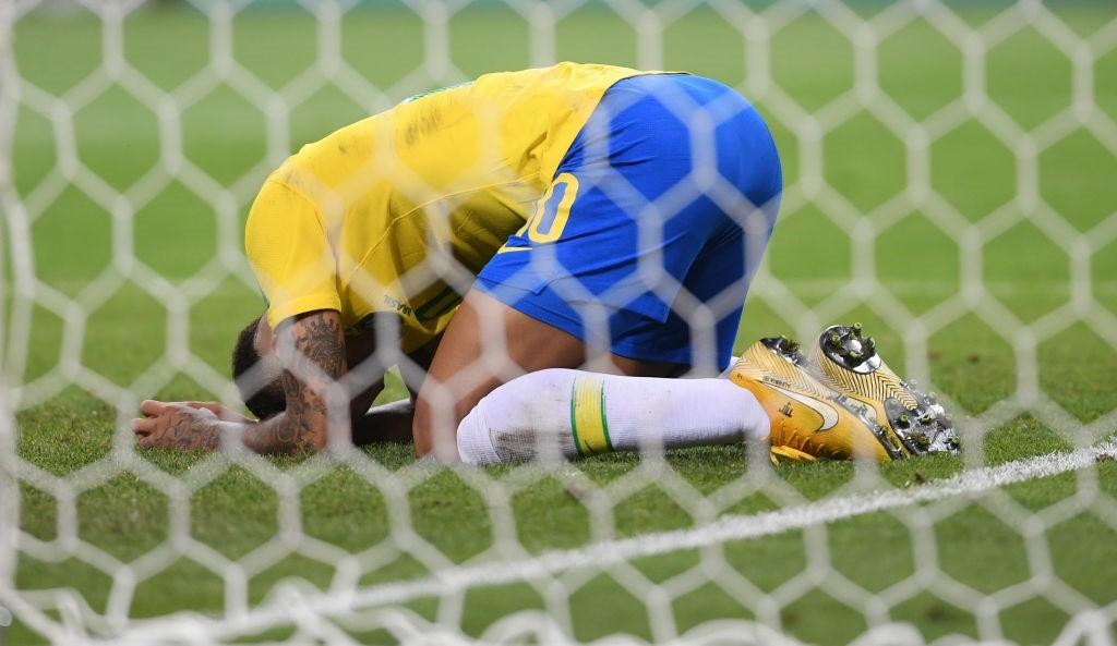 Bélgica venceu o Brasil por 2 a 1 e eliminou a seleção de Tite da Copa do Mundo da Rússia; Neymar (Foto: Getty Images)