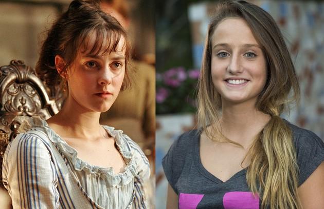 A Bruna Griphao caberá o papel de Lídia, a mais nova das cinco irmãs. Jena Malone teve a mesma personagem em 'Orgulho e preconceito' (Foto: Reprodução)