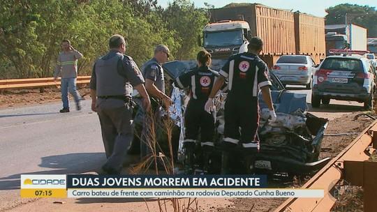 Corpos de amigas mortas em colisão são enterrados em Pradópolis: 'vai fazer muita falta', diz pai