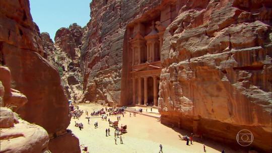 Globo Repórter desbrava Petra, a cidade perdida na Jordânia