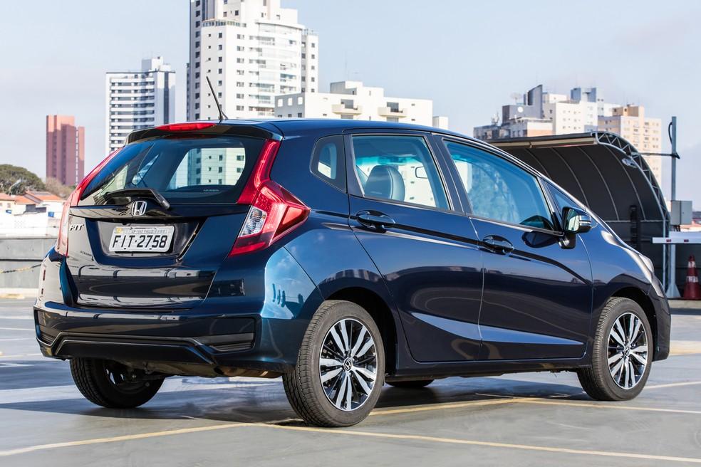 Honda Fit — Foto: Celso Tavares/G1