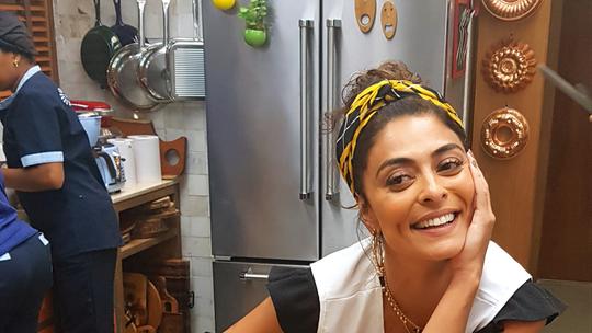 Juliana Paes faz intensivo de confeitaria para viver Maria da Paz, em 'A Dona do Pedaço'