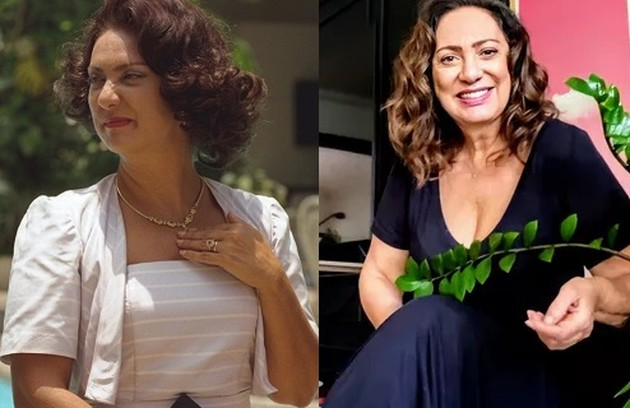Eliane Giardini foi dona Bertha, mãe de Hilda. A atriz está escalada para 'Olho por olho', de João Emanuel Carneiro (Foto: Reprodução)