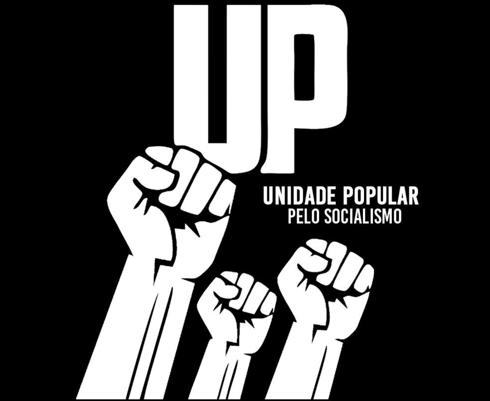 Símbolo do novo partido cuja criação foi aprovada pelo TSE, o Unidade Popular — Foto: Reprodução / Facebook