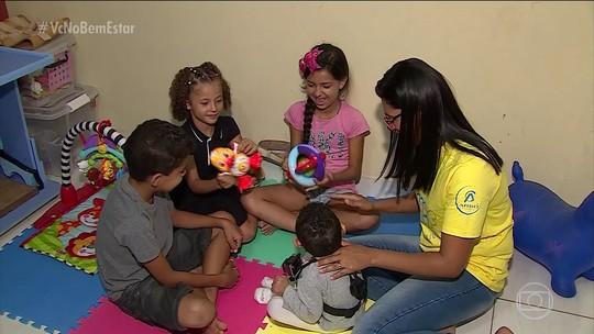 A importância de estimular crianças com a síndrome congênita do vírus da Zika