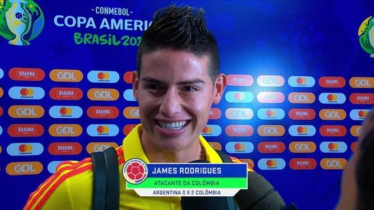 Português fluente, Palmeiras, gol mais bonito da Copa 2014: veja as conexões de James com o Brasil