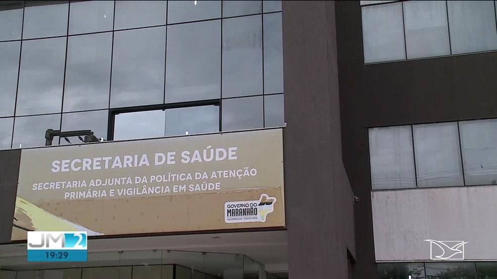 Secretaria de Saúde do Maranhão investiga o caso. — Foto: Reprodução/TV Mirante