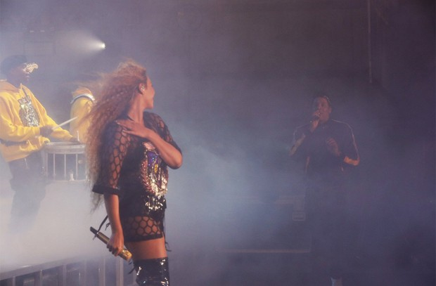 Beyoncé e JayZ no Coachella 2018 (Foto: Robin Harper/Beyonce.com)