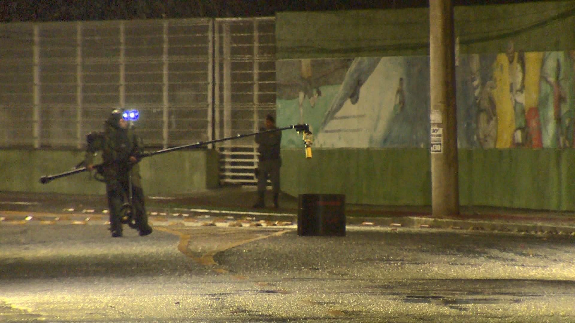 Esquadrão antibombas é acionado em Vitória, mas objeto suspeito era cilindro de gás
