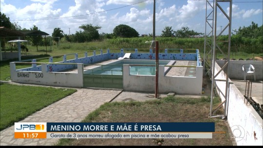 Mãe suspeita de deixar filho se afogar é levada para complexo psiquiátrico em João Pessoa