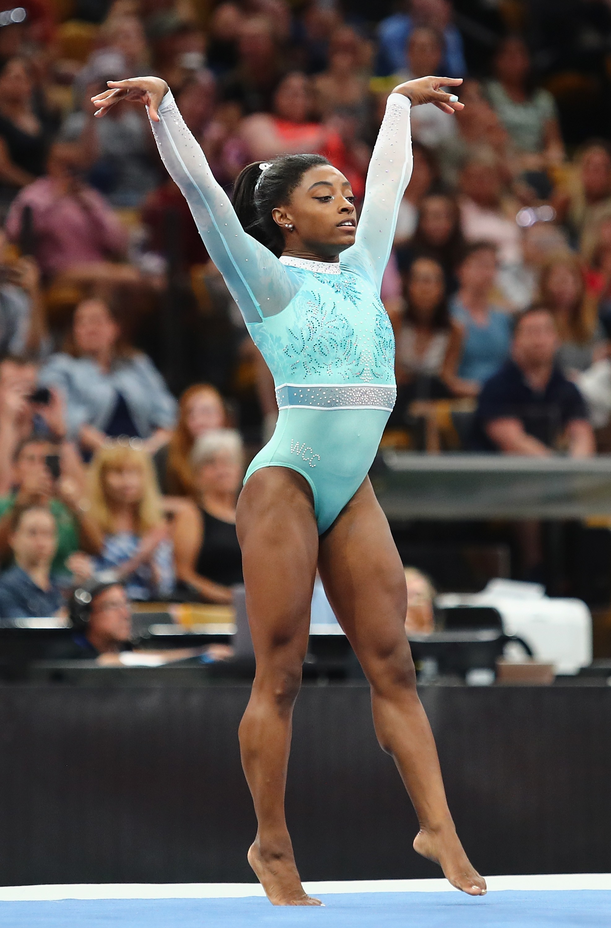 Simone Biles (Foto: Tim Bradbury/Getty Images)