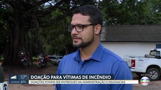 Administração do Recanto das Emas recebe doações a vítimas de incêndio