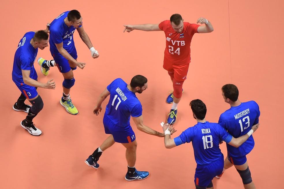 Rússia venceu a França na final da Liga das Nações (Foto: Divulgação/FIVB)