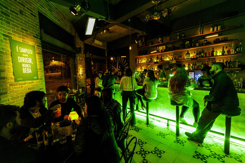 Ação promovida pela Heineken aconteceu em 18 bares das cidades de São Paulo e Porto Alegre (Foto: Mariana Pekin)
