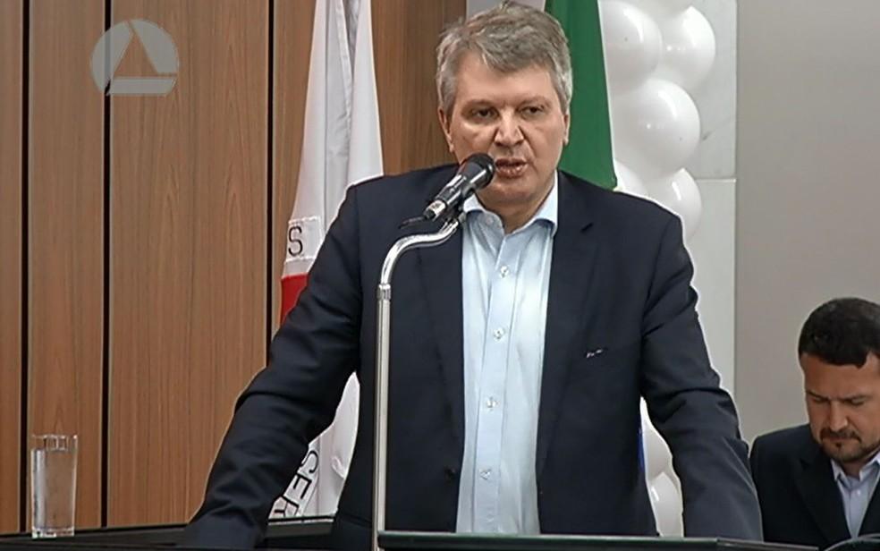Jaime Martins (PROS), candidato ao governo de Minas Gerais (Foto: Assembleia Legislativa de Minas Gerais/Reprodução)